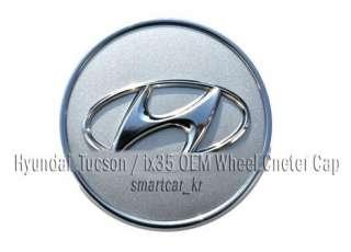 2011 2012 Tucson / ix35 OEM Wheel Tire Center Hub Caps 4pc Set