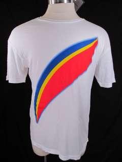 Captain EO Michael Jackson Disney Rainbow Shirt Mens