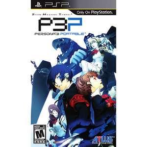 Shin Megami Tensei Persona 3 Portable (PSP) Games