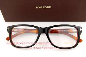New Tom Ford Eyeglasses Frames 5163 005 BLACK for Men