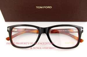 New Tom Ford Eyeglasses Frames 5163 005 BLACK for Men