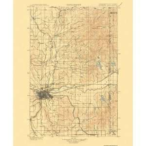 USGS TOPO MAP SPOKANE QUAD WASHINGTON (WA) 1901 Home