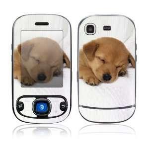 Samsung Strive Decal Skin Sticker   Animal Sleeping Puppy