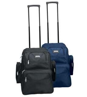 Rolling college laptop macbook file wheels backpack Bag