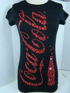 Coca Cola Black Kisses and Love Tee 1030