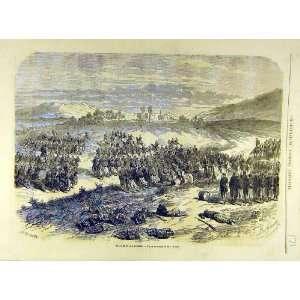 1863 Battle San Lorenzo Mexico Military French Print Home