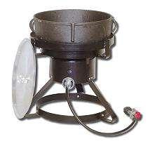 King Kooker®   5 gal. Jambalaya Cast Iron Pot and Cooker Package
