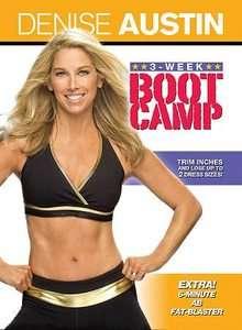 Denise Austin 3 Week Boot Camp DVD, 2009