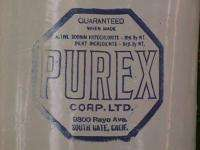Red Wing PUREX South Gate, CA 5 Gallon Advertising JUG