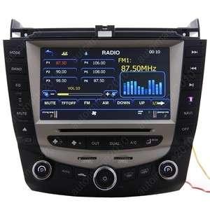 03 07 Honda Accord Car GPS Navigation Radio TV Bluetooth USB  DVD