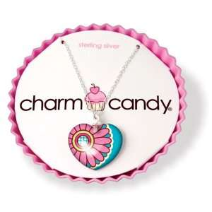 Charm Candy Love Sterling Silver Necklace: Jewelry