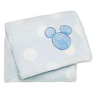 Printed Embroidered Boa Blanket  Disney Baby Bedding Blankets