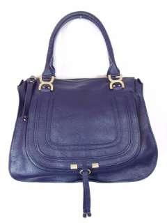 BESSO BLUE LEATHER LUXURY ITALIAN HANDBAG SHOULDER BAG TOTE PURSE B12