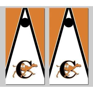 Campbell University Fighting Camels Cornhole Bag Toss Game Set