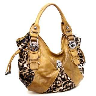 Animal Print Fashion Shoulder Bag Hobo Satchel Tote Purse Handbag