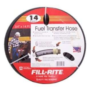 FillRite FRH07514 Fill Rite 3/4 x 14 Ft Fuel Tank Transfer Pump Hose