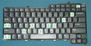 Dell Inspiron E1450 KEYBOARDS INDIVIDUL KEY ONLY