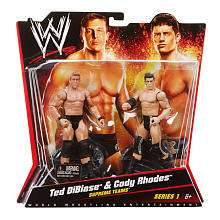 WWE Series 1 Action Figure 2 Pack   Ted DiBiase and Code Rhodes