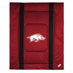 Comforter Full/Queen Sideline,University of Arkansas Razorbacks