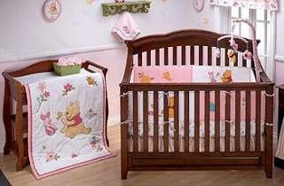 Disney Sweet Pooh 4 Piece Crib Bedding Set   Crown Craft   Babies R