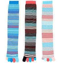 LittleMissMatched Kid Toe Sock   Multi Stripe Toe   Little Miss