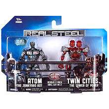 Figure 2 Pack   Atom vs Twin Cities   Jakks Pacific   Toys R Us