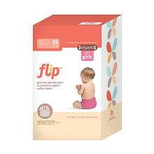 Flip Day Pack Organic Cloth Diaper Set   Girls   Flip   Babies R