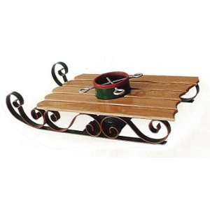 Santas Magical Sled, Christmas Tree Stand