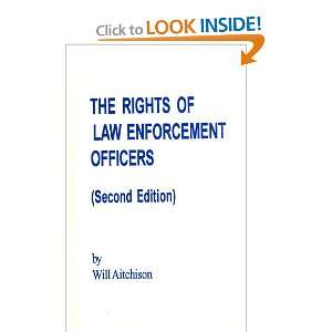 Rights of Law Enforcement Officers (9781880607077