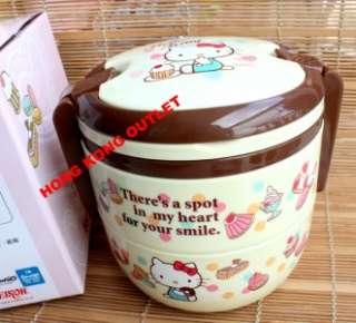 Hello Kitty Bento Lunch Box Case + Spoon Set M30a
