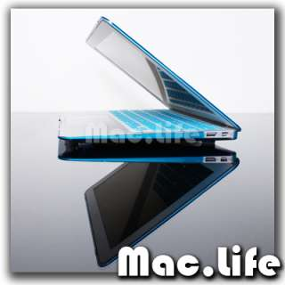 METALLIC AQUA BLUE Hard Case Cover for Macbook Air 13