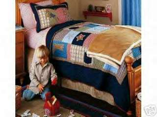 NEW Pottery Barn OLD WILD WEST Twin Quilt/Sheet+ COWBOY