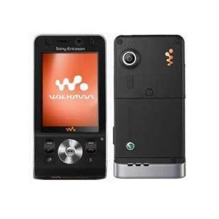 New Sony Ericsson W910 3G Unlocked Mobile Phone BLACK 7311271007173