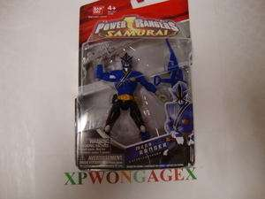 Power Rangers Samurai Blue Mega Ranger NEW Water