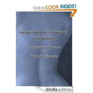 Geography of a Woman Full Grown: Anna Figueroa:  Kindle