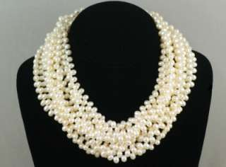 Co. Paloma Picasso multi strand pearl necklace. Rare Tiffany necklace