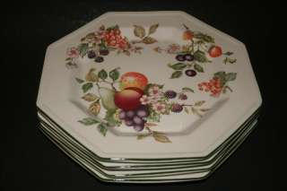 Johnson Brothers FRESH FRUIT Flower Dinner Plate EUC