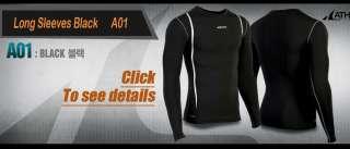 Mens Base Layer_A01,Hiking&Cycling Compression Skin Gear Shirts Long