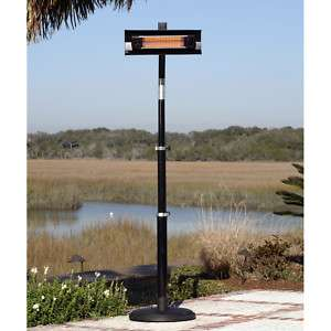 Infrared Outdoor Electric Black Patio Deck Heater