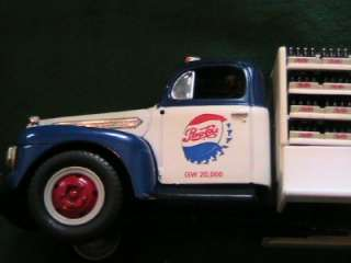 Pepsi Cola 1951 Ford F 6 Bottlers Truck 1/34 Scale Toy