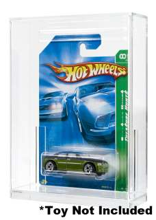 Hot Wheels Carded Acrylic Display Case