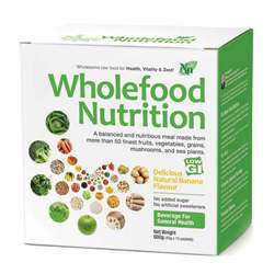 Wholefood Nutrition RAW FOOD meal replacement healthy