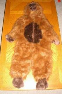 Kids Childs 2 4 Real Monkey Orangutan Ape Plush Furry Halloween