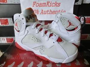 Jordan 7 VII Retro GS Hare Red CDP Countdown Pack Boy Girl Youth Shoes