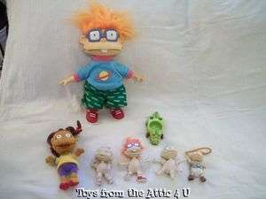 RUGRATS DOLL LOT CHUCKIE DILL TOMMY LILLIAN SUSIE REPTAR HTF
