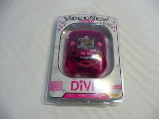 NEW VIDEO NOW COLOR FX DIVA PINK PLAYER TIGER ELECTRONICS HOT TOY PVD