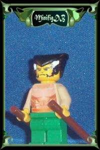 Custom LEGO minifig Batman game Ras Al Ghul