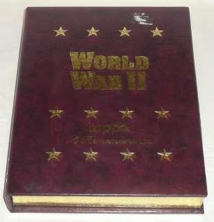 Volume I World War II A Remembrance Zippo Lighter Set Empty Box Only