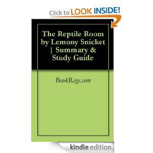 The Reptile Room by Lemony Snicket  Summary & Study Guide BookRags