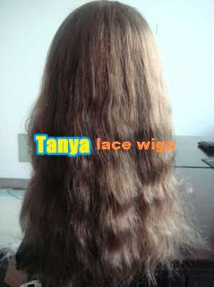 Full Lace Wig Indian Remy Human Hair light wavy lace wigs HOT